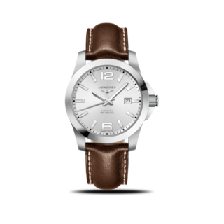 Longines Herrenuhr Conquest Automatik 41mm L3.777.4.76.5