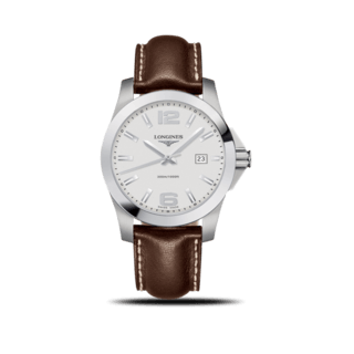 Longines Herrenuhr Conquest Quarz 41mm L3.759.4.76.4