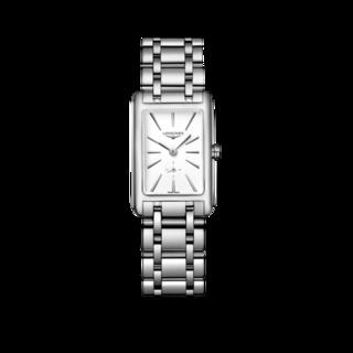 Longines Damenuhr DolceVita Quarz 20,8 x 32mm L5.255.4.11.6