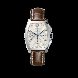 Longines Herrenuhr Evidenza Automatik Chronograph L2.643.4.73.4