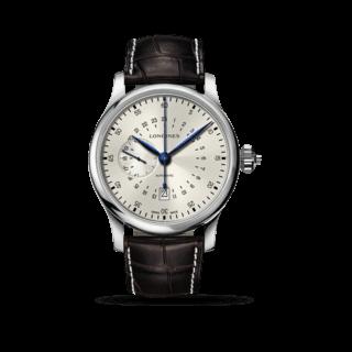 Longines Herrenuhr 24 Hours Single Push-Piece Chronograph L2.797.4.73.0