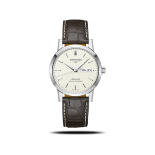 Longines Herrenuhr Automatik 40mm L4.827.4.92.2