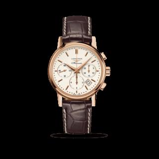 Longines Herrenuhr Column-Wheel Chronograph L2.733.8.72.2
