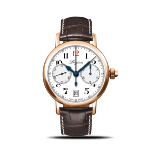 Longines Herrenuhr Column-Wheel Single Push-Piece Chronograph 40mm L2.775.8.23.3