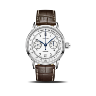 Longines Herrenuhr Column-Wheel Single Push-Piece Chronograph 41mm L2.800.4.23.2