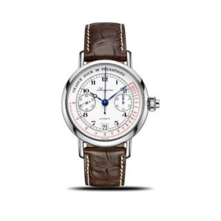 Longines Herrenuhr Column-Wheel Single Push-Piece Pulsometer Chronograph 40mm L2.801.4.23.2