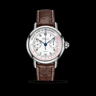 Longines Herrenuhr Column-Wheel Single Push-Piece Pulsometer Chronograph L2.801.4.23.2