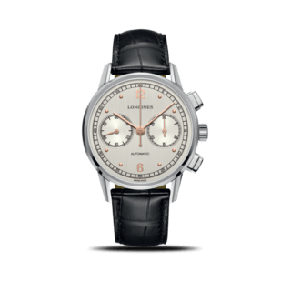 Longines Herrenuhr Heritage Chronograph 1940 41mm L2.814.4.76.0