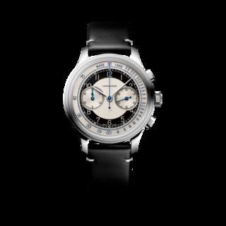 Longines Herrenuhr Heritage Classic Chronograph Tuxedo L2.830.4.93.0
