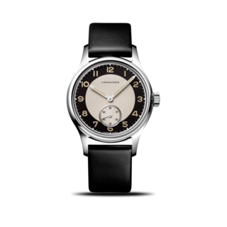 Longines Armbanduhr Heritage Classic Tuxedo L2.330.4.93.0