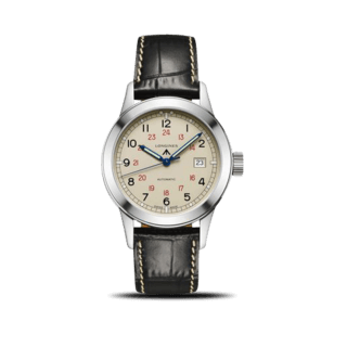 Longines Herrenuhr Heritage Military COSD 40mm L2.832.4.73.0