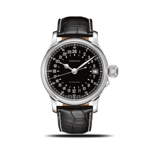 Longines Herrenuhr Twenty-Four Hours 47,5mm L2.751.4.53.4