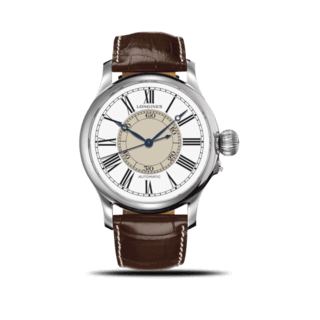 Longines Herrenuhr Weems Second-Setting 47,5mm L2.713.4.11.0