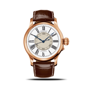 Longines Herrenuhr Weems Second-Setting 47,5mm L2.713.8.11.0