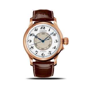 Longines Herrenuhr Weems Second-Setting 47,5mm L2.713.8.13.0