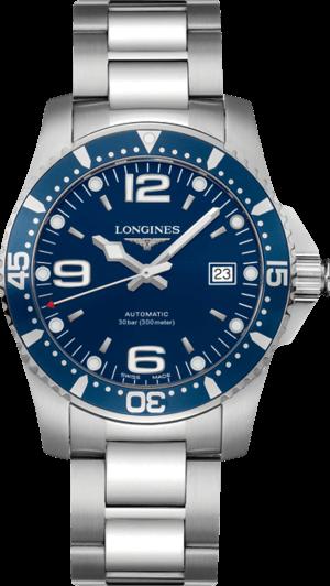 Herrenuhr Longines HydroConquest Automatik 41mm mit blauem Zifferblatt und Edelstahlarmband