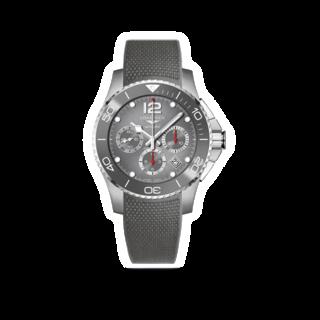 Longines Herrenuhr HydroConquest Automatik Chronograph 43mm L3.883.4.76.9