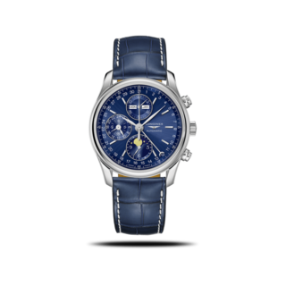 Longines Herrenuhr Automatik Chronograph 40mm L2.673.4.92.0