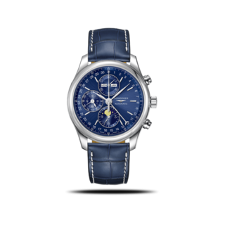 Longines Herrenuhr Automatik Chronograph 42mm L2.773.4.92.0