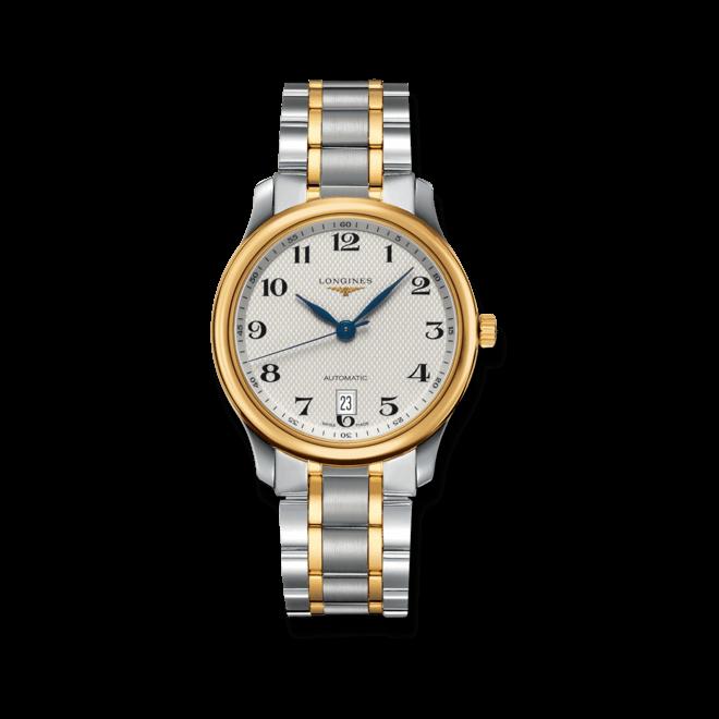 Armbanduhr Longines Master Automatik 38,5mm mit silberfarbenem Zifferblatt und Edelstahlarmband bei Brogle