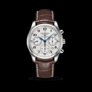 Longines Herrenuhr Master Automatik Chronograph 42mm L2.759.4.78.3