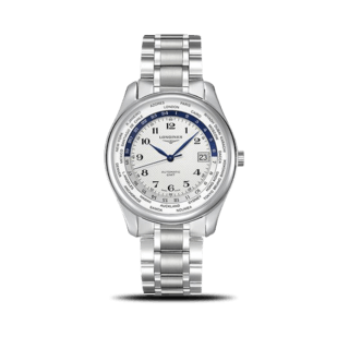 Longines Herrenuhr Master Automatik GMT 42mm L2.802.4.70.6