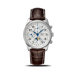 Longines Herrenuhr Master Mondphase Chronograph 40mm L2.673.4.78.3