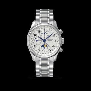 Longines Herrenuhr Master Mondphase Chronograph 40mm L2.673.4.78.6
