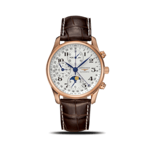 Longines Herrenuhr Master Mondphase Chronograph 40mm L2.673.8.78.3