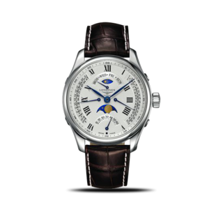Longines Herrenuhr Master Retrograde Automatik 44mm L2.739.4.71.5