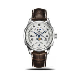 Longines Herrenuhr Master Retrograde Mondphase 41mm L2.738.4.71.3