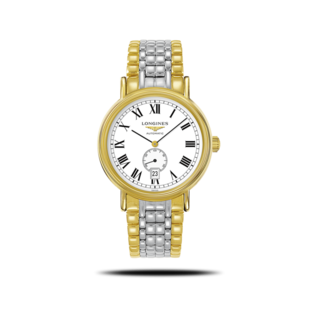 Longines Armbanduhr Présence Automatik 40mm L4.905.2.11.7