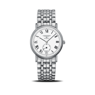 Longines Armbanduhr Présence Automatik kleine Sekunde 38,5mm L4.805.4.11.6