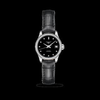 Longines Damenuhr Record Automatik Chronometer 26mm L2.320.0.57.2