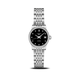 Longines Damenuhr Record Automatik Chronometer 26mm L2.320.0.57.6