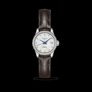 Longines Damenuhr Record Automatik Chronometer 26mm L2.320.0.87.2