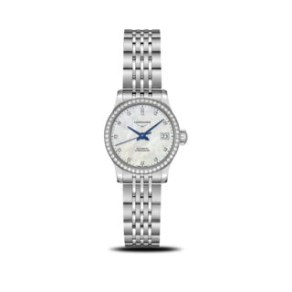 Longines Damenuhr Record Automatik Chronometer 26mm L2.320.0.87.6