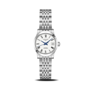 Longines Damenuhr Record Automatik Chronometer 26mm L2.320.4.11.6