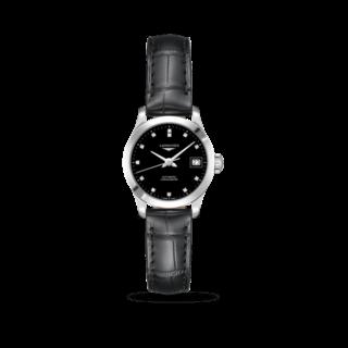 Longines Damenuhr Record Automatik Chronometer 26mm L2.320.4.57.2