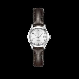 Longines Damenuhr Record Automatik Chronometer 26mm L2.320.4.76.2