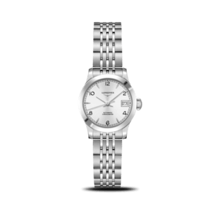 Longines Damenuhr Record Automatik Chronometer 26mm L2.320.4.76.6