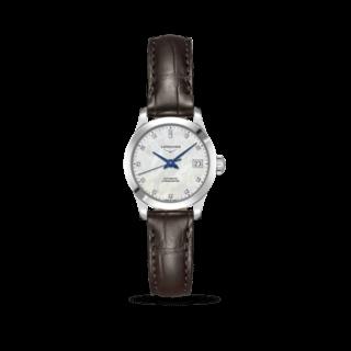 Longines Damenuhr Record Automatik Chronometer 26mm L2.320.4.87.2