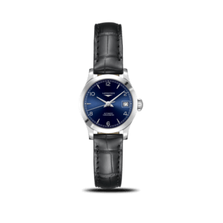 Longines Damenuhr Record Automatik Chronometer 26mm L2.320.4.96.2