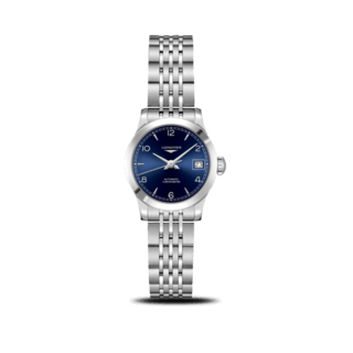 Longines Damenuhr Record Automatik Chronometer 26mm L2.320.4.96.6