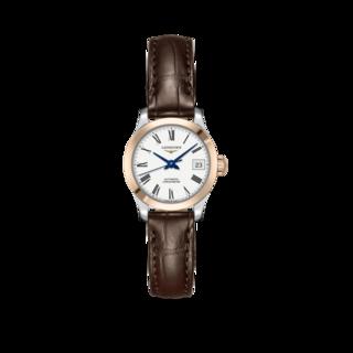 Longines Damenuhr Record Automatik Chronometer 26mm L2.320.5.11.2