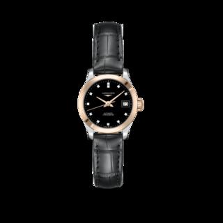 Longines Damenuhr Record Automatik Chronometer 26mm L2.320.5.57.2