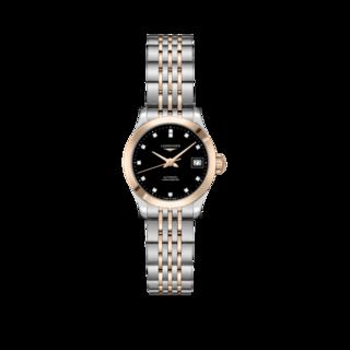 Longines Damenuhr Record Automatik Chronometer 26mm L2.320.5.57.7