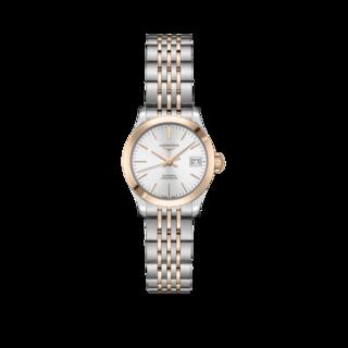 Longines Damenuhr Record Automatik Chronometer 26mm L2.320.5.72.7