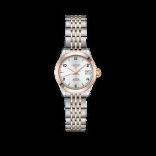 Longines Damenuhr Record Automatik Chronometer 26mm L2.320.5.76.7