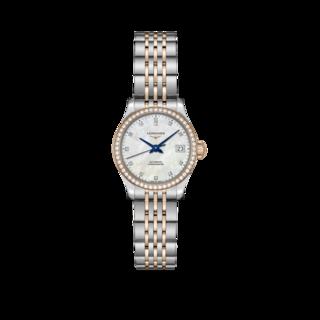 Longines Damenuhr Record Automatik Chronometer 26mm L2.320.5.89.7